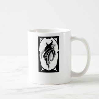 ALW Custom Design tribal logo coffee cup Classic White Coffee Mug