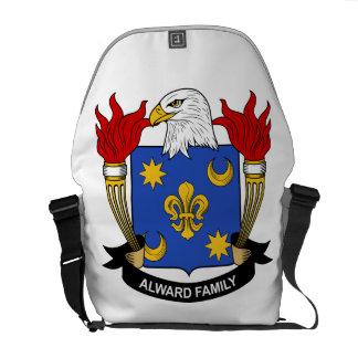 Alward Family Crest Courier Bag