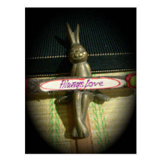Alwaus Love Hakuna Matata Cute Rabbit style.png Postcard