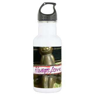 Alwaus Love Hakuna Matata Cute Rabbit style.png Stainless Steel Water Bottle