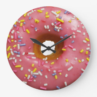 Always a good time for donut wall clock