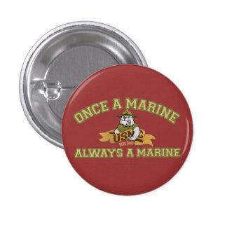 Always A Marine Button