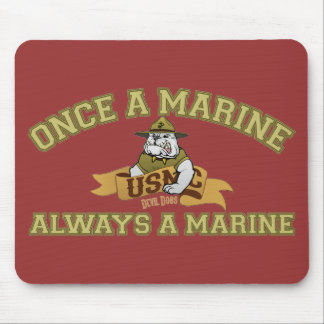 Always A Marine Mouse Pad