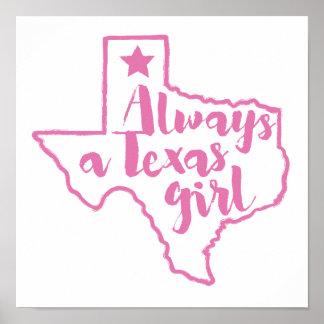 Always a Texas Girl Poster