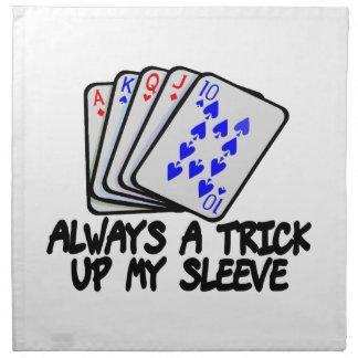 Always A Trick Up My Sleeve Cloth Napkin