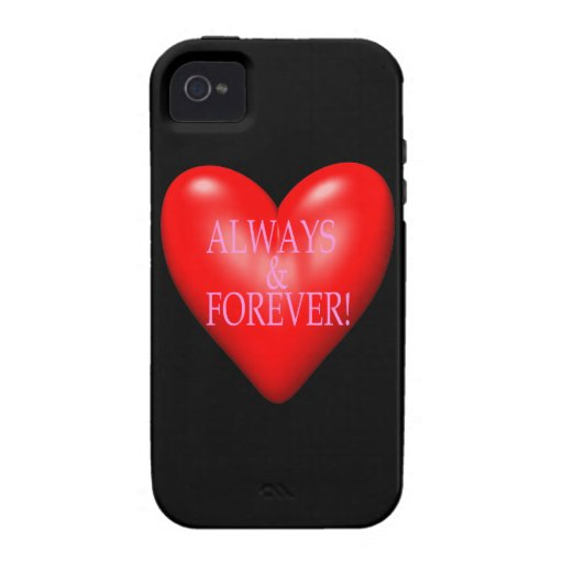 Always And Forever Case-Mate iPhone 4 Covers