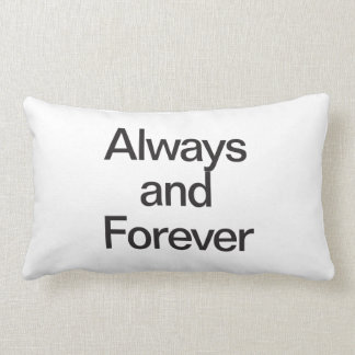 always and forever lumbar pillow