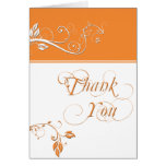 Always and Forever Orange Card