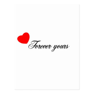 Always and forever Products Postcard