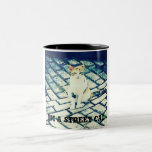 Always be...a cool cat with your coffee or tea! Two-Tone coffee mug