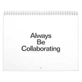 always be collaborating calendar