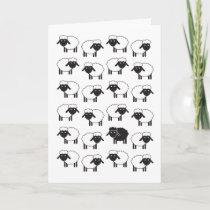 Always Be Ewe Black Sheep Card