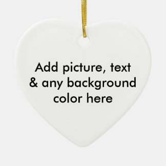 ALWAYS BE PREPARED (with bullet-holes) Double-Sided Heart Ceramic Christmas Ornament