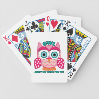 Always Be There Bicycle Playing Cards