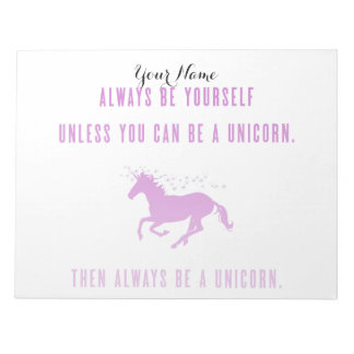 Always Be Yourself Notepad