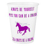 Always Be Yourself Paper Cup at Zazzle