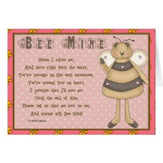 Always Bee Mine Greeting Card