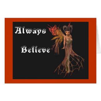 Always Believe Card