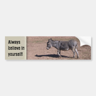 Always believe in yourself bumper sticker
