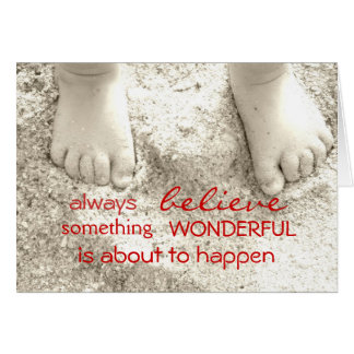 Always Believe Inspirational Greeting Cards