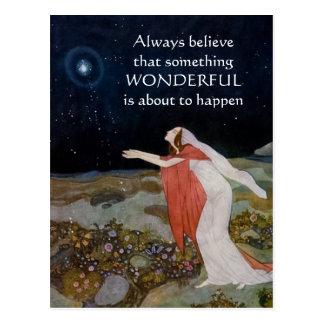 Always Believe Postcard