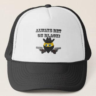 Always Bet On Black Trucker Hat