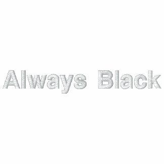 Always Black Polo2 Polo Shirt