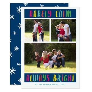 Always Bright Multi-Photo | Holiday Photo Card