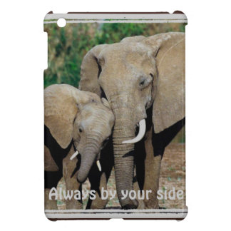 Always By Your Side Elephants iPad Mini Cover