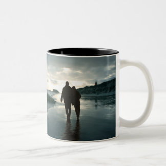 Always By Your Side Two-Tone Coffee Mug