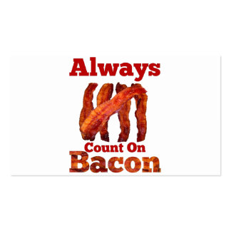 Always Count On Bacon! Business Card