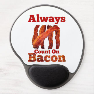 Always Count On Bacon! Gel Mouse Pad