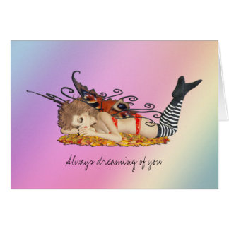 Always dreaming of you stationery note card
