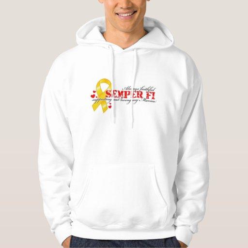 Always Faithful - Semper Fi Hooded Sweatshirt