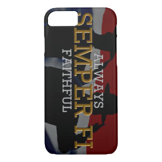 Always faithful - Semper Fi iPhone 7 Case