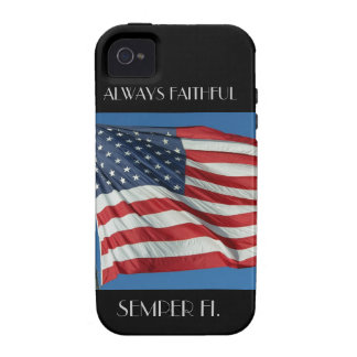 Always Faithful - Semper Fi IPhone Case iPhone 4 Covers
