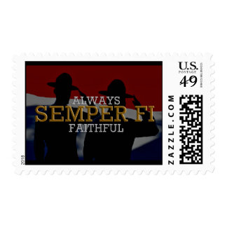Always Faithful - Semper Fi Postage
