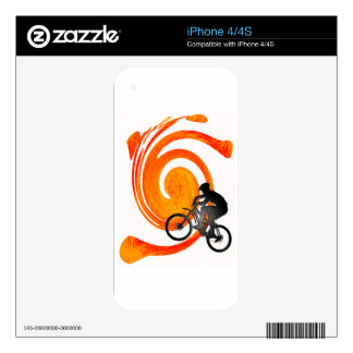 ALWAYS FOR PEDDLING SKIN FOR THE iPhone 4S