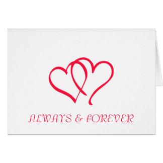 ALWAYS & FOREVER CARD
