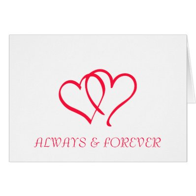 ALWAYS & FOREVER GREETING CARDS