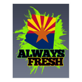 Always Fresh Arizona Postcard