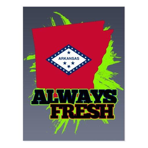 Always Fresh Arkansas Postcard