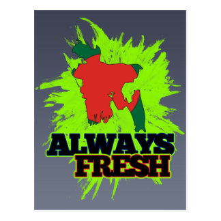 Always Fresh Bangladesh Postcard