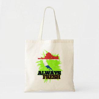 Always Fresh Croatia Canvas Bags