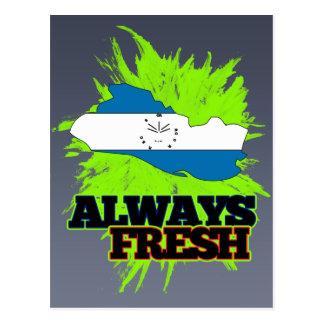 Always Fresh El Salvador Postcard