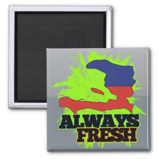 Always Fresh Haiti Refrigerator Magnet
