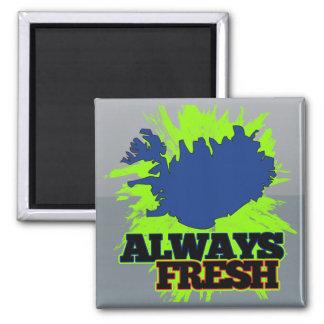 Always Fresh Iceland Magnets
