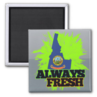 Always Fresh Idaho Refrigerator Magnets