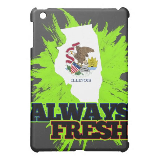 Always Fresh Illinois iPad Mini Case