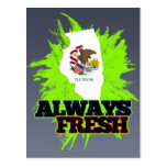 Always Fresh Illinois Post Cards